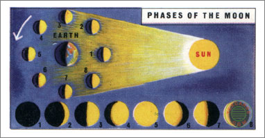 2. Moon and its Phases