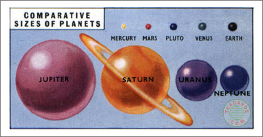 11. Planets - sizes